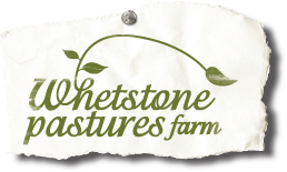 Whetstone Pastures Farm log
